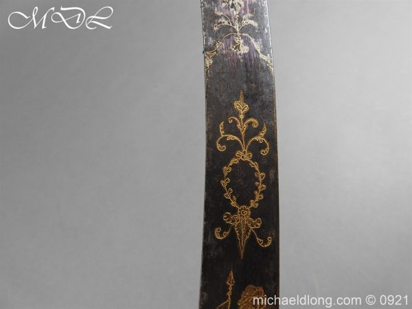 michaeldlong.com 21496 600x450 1796 British Officer's Sword