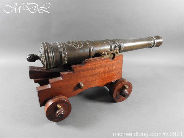 michaeldlong.com 21509 600x450 Spanish 18th Century Bronze Cannon