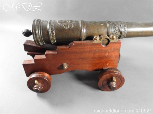 michaeldlong.com 21510 600x450 Spanish 18th Century Bronze Cannon