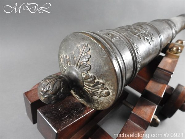 michaeldlong.com 21513 600x450 Spanish 18th Century Bronze Cannon