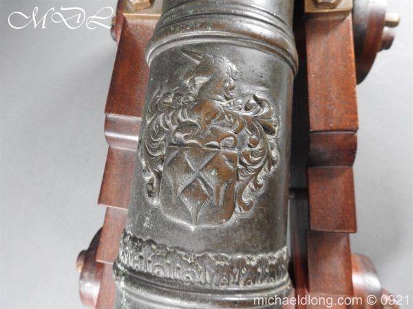 michaeldlong.com 21515 600x450 Spanish 18th Century Bronze Cannon