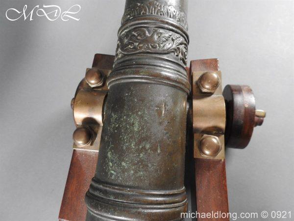 michaeldlong.com 21516 600x450 Spanish 18th Century Bronze Cannon