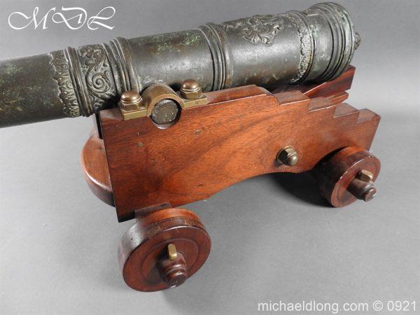 michaeldlong.com 21521 600x450 Spanish 18th Century Bronze Cannon