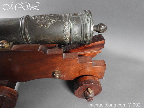 michaeldlong.com 21523 600x450 Spanish 18th Century Bronze Cannon