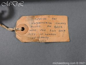 michaeldlong.com 21530 300x225 City of London Yeomanry Cavalry Sword