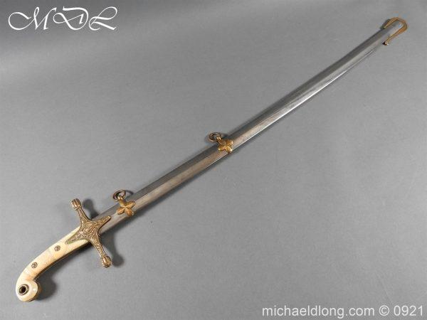 michaeldlong.com 21651 600x450 15th Hussars Officer's Mameluke