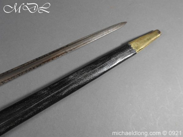 michaeldlong.com 21693 600x450 British Naval Officer's Sword c 1805