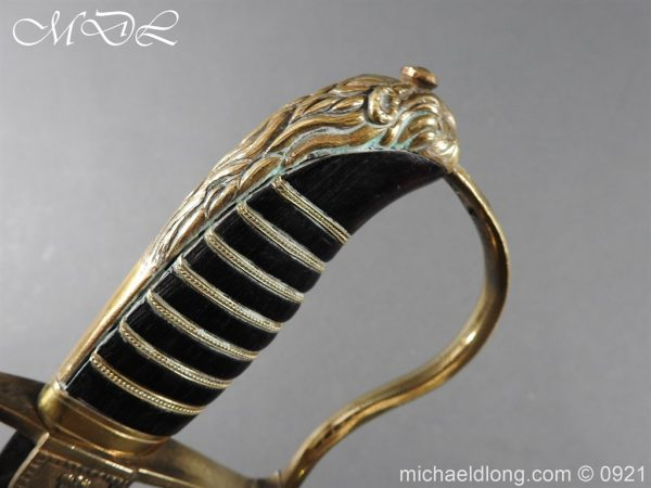 michaeldlong.com 21708 600x450 British Naval Officer's Sword c 1805