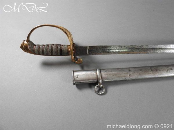 michaeldlong.com 21738 600x450 Victorian Robin Hood Rifles Officer's Sword