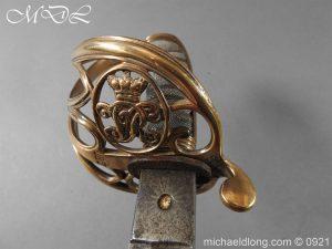 michaeldlong.com 21755 300x225 Victorian Robin Hood Rifles Officer's Sword