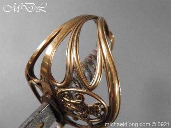 michaeldlong.com 21756 600x450 Victorian Robin Hood Rifles Officer's Sword