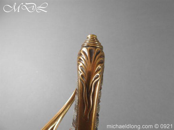 michaeldlong.com 21759 600x450 Victorian Robin Hood Rifles Officer's Sword