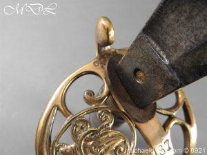 michaeldlong.com 21761 300x225 Victorian Robin Hood Rifles Officer's Sword