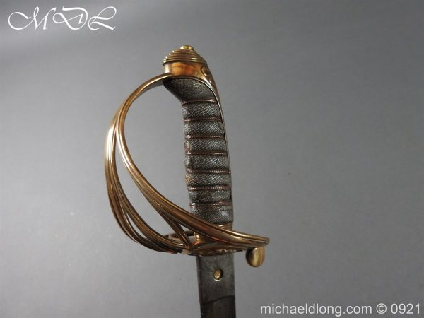 michaeldlong.com 21762 600x450 Victorian Robin Hood Rifles Officer's Sword