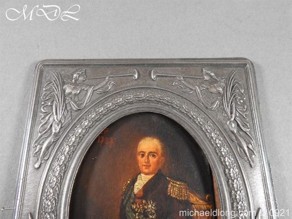 michaeldlong.com 21854 600x450 18th Century Portrait of a High Ranking Military Officer