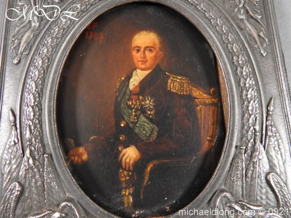 michaeldlong.com 21855 600x450 18th Century Portrait of a High Ranking Military Officer