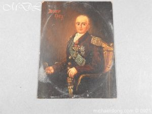 michaeldlong.com 21856 300x225 18th Century Portrait of a High Ranking Military Officer