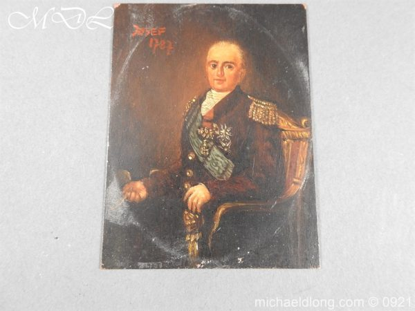 michaeldlong.com 21856 600x450 18th Century Portrait of a High Ranking Military Officer
