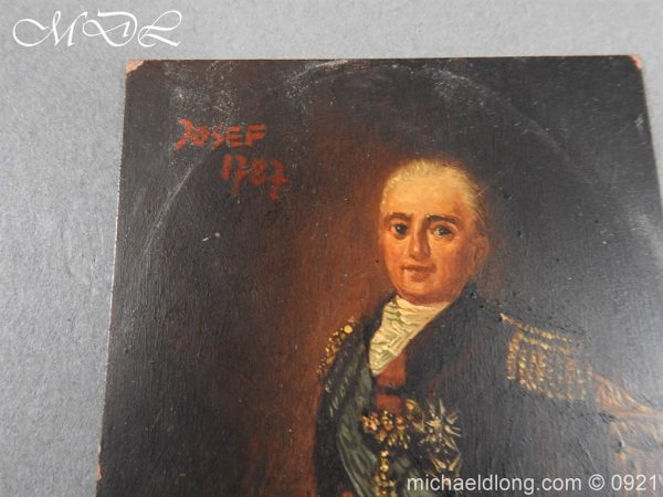 michaeldlong.com 21857 600x450 18th Century Portrait of a High Ranking Military Officer