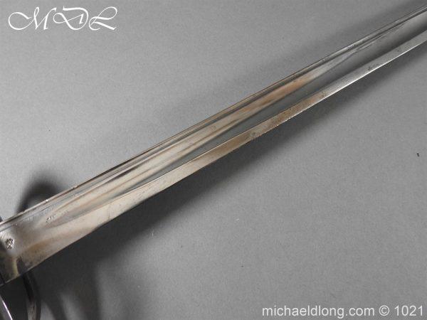 michaeldlong.com 22278 600x450 Heavy Cavalry 1788 Sword by Gill