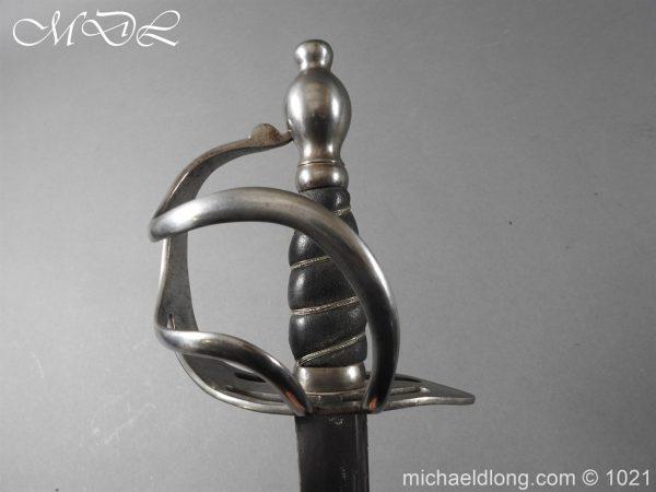 michaeldlong.com 22289 600x450 Heavy Cavalry 1788 Sword by Gill