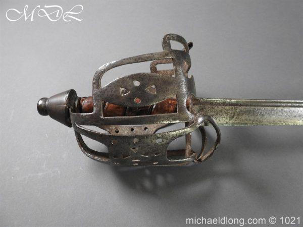 michaeldlong.com 22297 600x450 Royal Highland 42nd Infantry Sword c 1760
