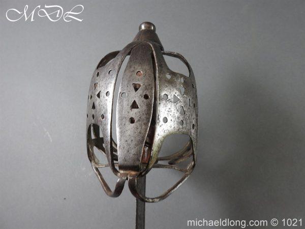 michaeldlong.com 22312 600x450 Royal Highland 42nd Infantry Sword c 1760