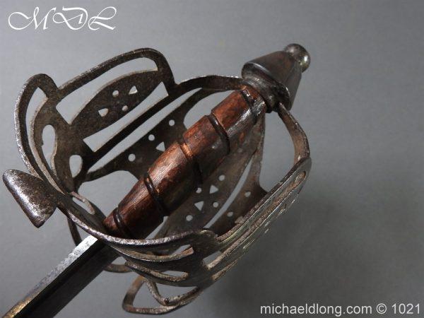 michaeldlong.com 22314 600x450 Royal Highland 42nd Infantry Sword c 1760