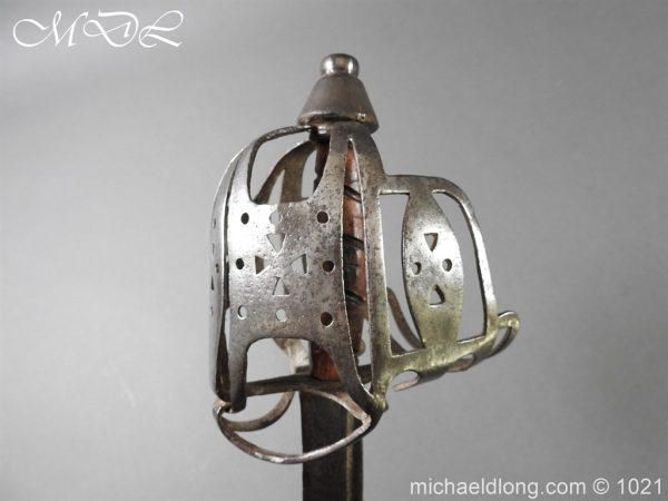 michaeldlong.com 22319 600x450 Royal Highland 42nd Infantry Sword c 1760