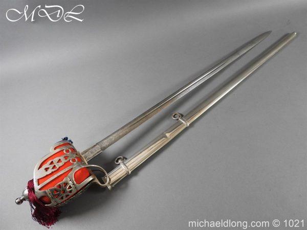 michaeldlong.com 22320 600x450 WW1 Gordon Highlanders Officer's Sword by Wilkinson
