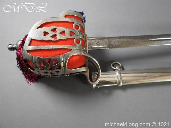 michaeldlong.com 22321 600x450 WW1 Gordon Highlanders Officer's Sword by Wilkinson