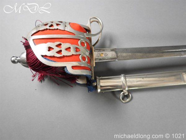 michaeldlong.com 22325 600x450 WW1 Gordon Highlanders Officer's Sword by Wilkinson