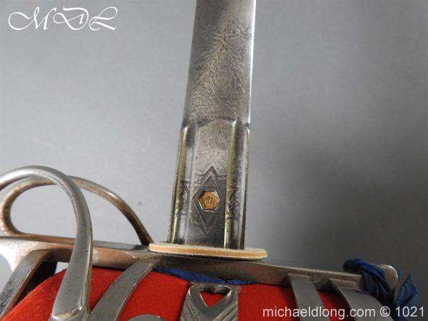 michaeldlong.com 22337 600x450 WW1 Gordon Highlanders Officer's Sword by Wilkinson