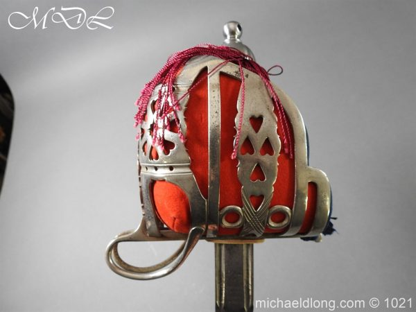michaeldlong.com 22343 600x450 WW1 Gordon Highlanders Officer's Sword by Wilkinson