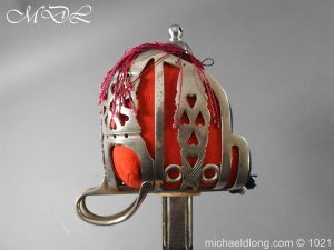 michaeldlong.com 22344 300x225 WW1 Gordon Highlanders Officer's Sword by Wilkinson