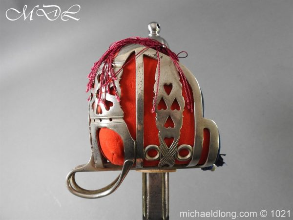 michaeldlong.com 22344 600x450 WW1 Gordon Highlanders Officer's Sword by Wilkinson