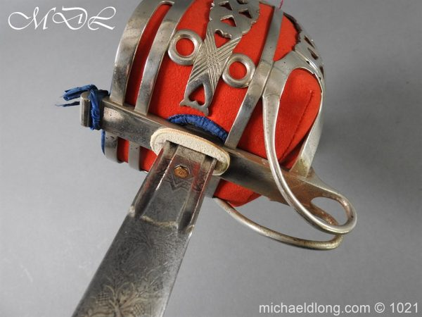 michaeldlong.com 22349 600x450 WW1 Gordon Highlanders Officer's Sword by Wilkinson