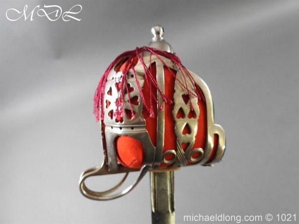 michaeldlong.com 22350 600x450 WW1 Gordon Highlanders Officer's Sword by Wilkinson