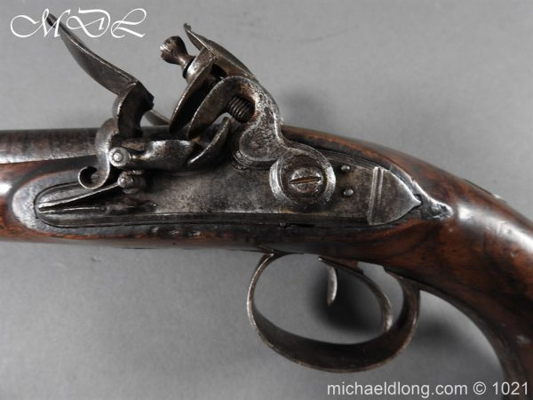 michaeldlong.com 22360 600x450 Double Barrel carriage Pistol by J Probin London