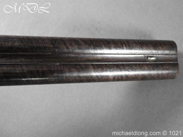 michaeldlong.com 22369 600x450 Double Barrel carriage Pistol by J Probin London