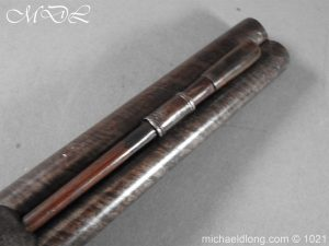 michaeldlong.com 22371 300x225 Double Barrel carriage Pistol by J Probin London