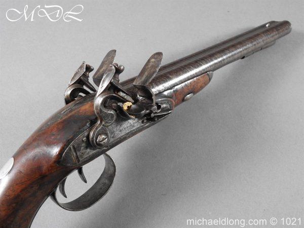 michaeldlong.com 22375 600x450 Double Barrel carriage Pistol by J Probin London