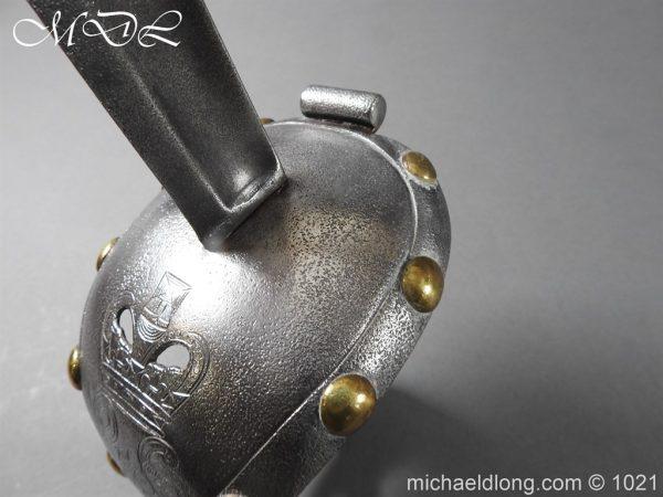michaeldlong.com 22421 600x450 1st Life Guards Pattern 1820 Trooper Sword